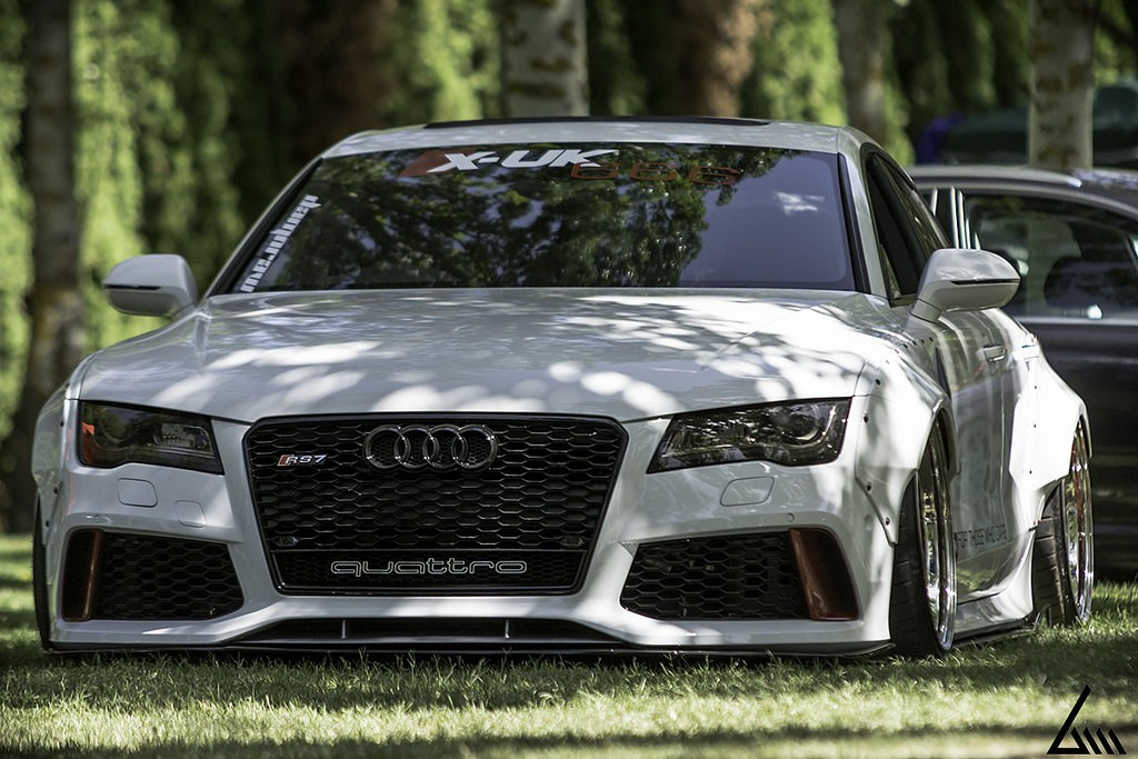 """Audi """"RS7"""" TDI Has Rocket Bunny Kit, Air Suspension and Awesome ..."""