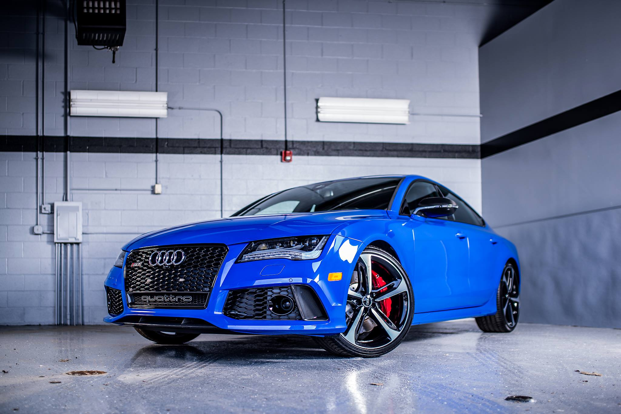 Audi RS7 Triplets: Nagoro Blue, Estoril Blue and Sepang Blue ...