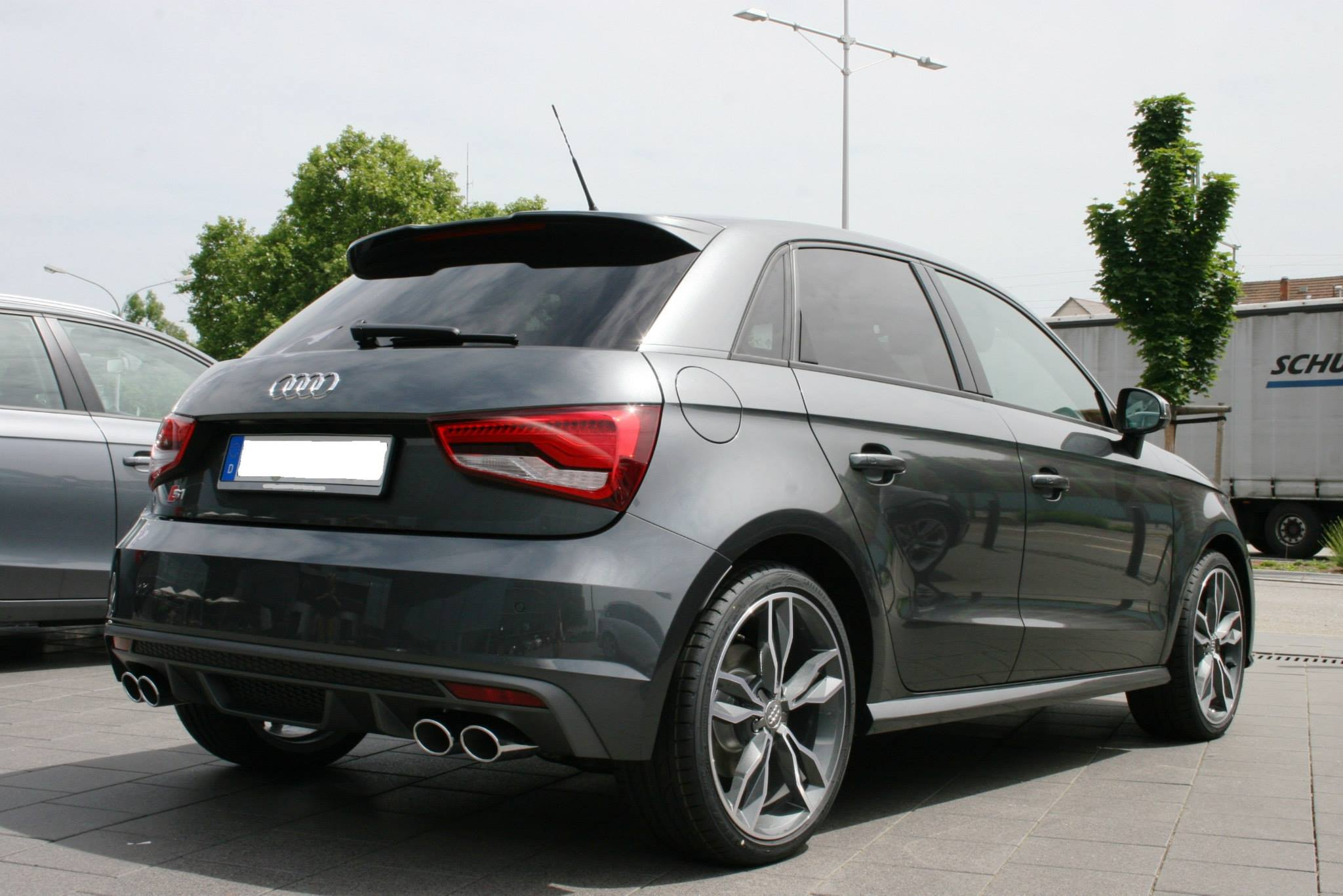 Audi S1: 4-Meter Pocket Rocket First Impressions from Audi Forum in ...