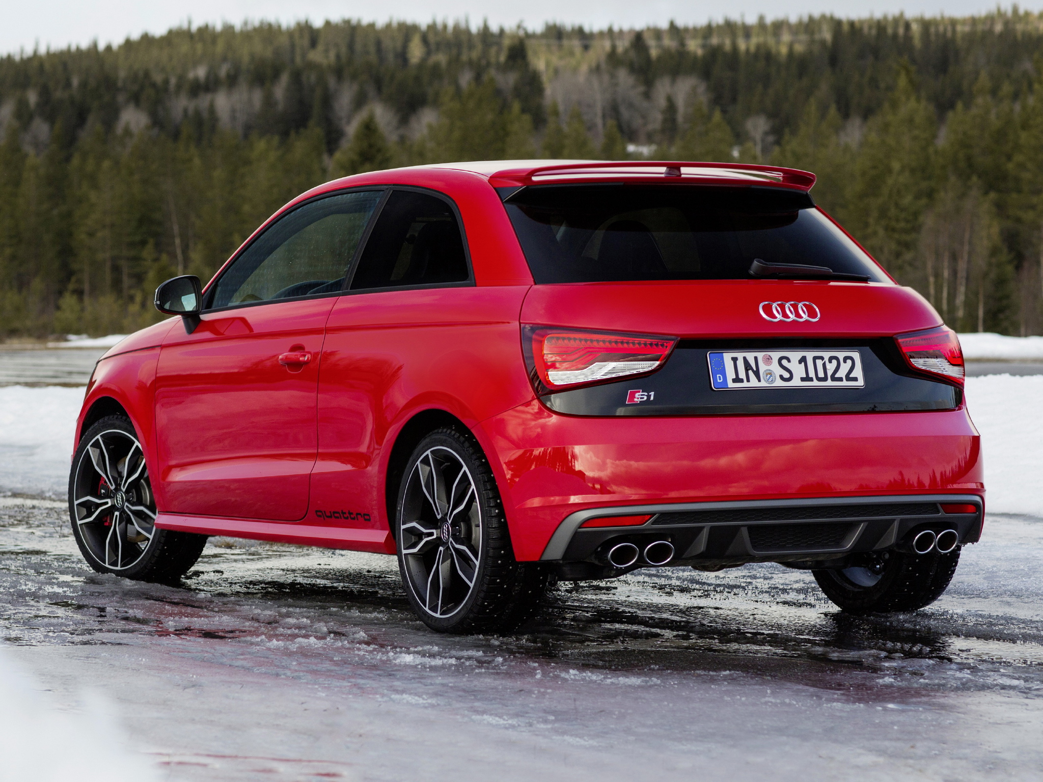 audi s1 coming in 2019 with 250 hp and quattro autoevolution. Black Bedroom Furniture Sets. Home Design Ideas