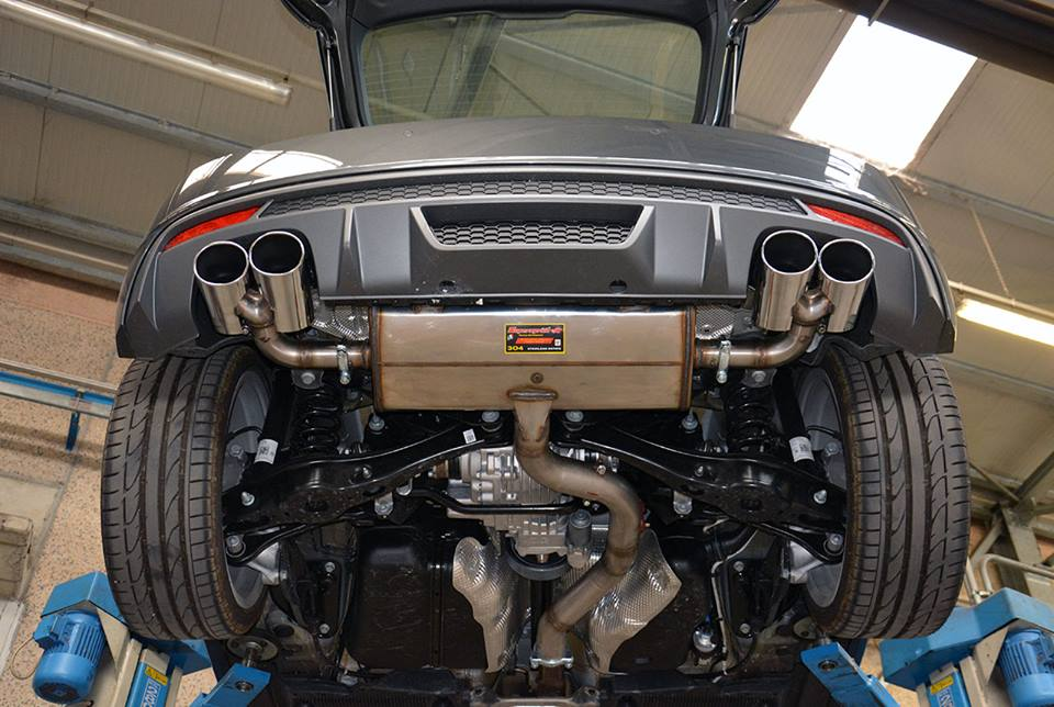 Audi S1 Gets Sports Exhaust From Supersprint Reveals Its