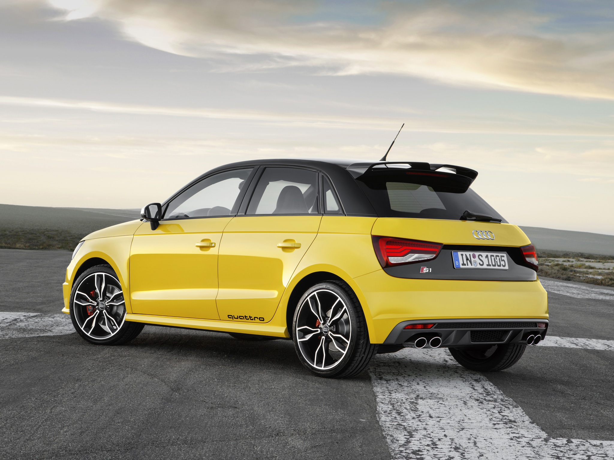 audi s1 quattro revealed reaches 100 km h in 5 8 seconds video autoevolution. Black Bedroom Furniture Sets. Home Design Ideas