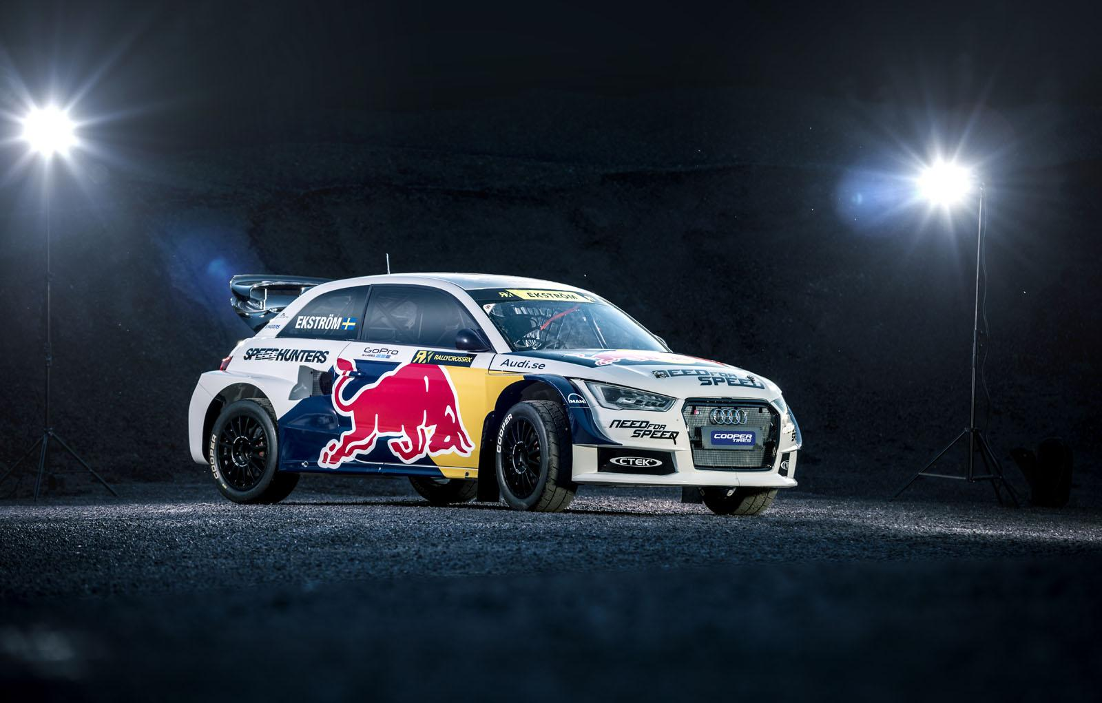 European Auto Parts >> Audi S1 Ready to Rallycross in Red Bull Livery - autoevolution