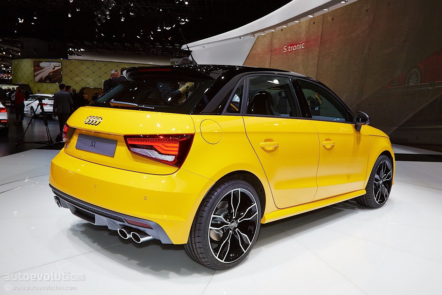 Audi S1 Wears Vegas Yellow for Swiss Debut [Live Photos ...