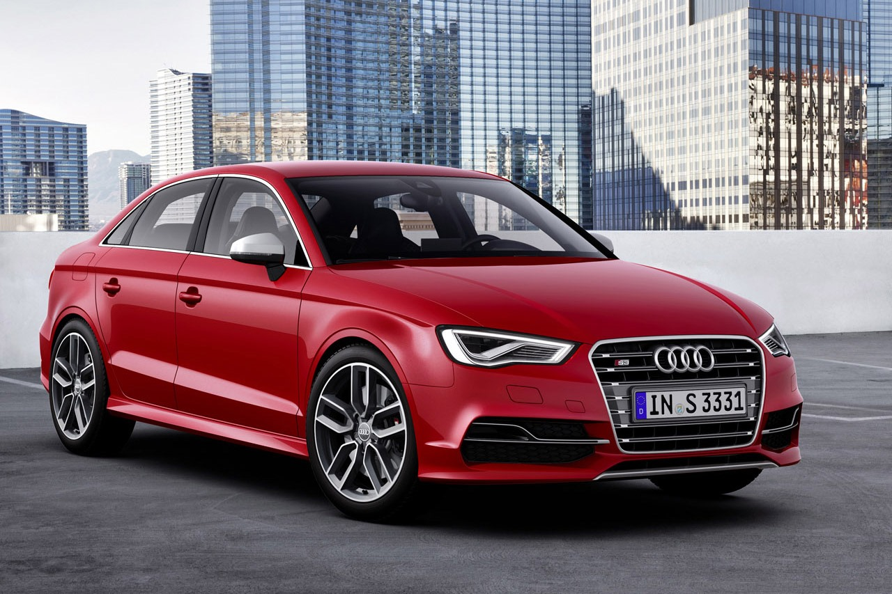 Audi S3 Sedan Revealed with 300 HP - autoevolution
