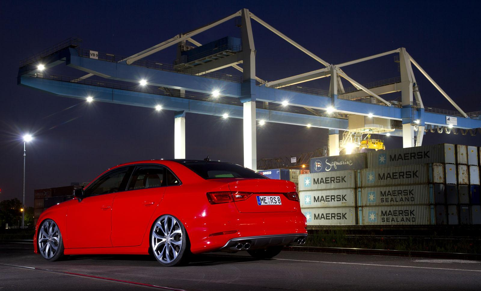 Audi S3 Sedan Tuned To 380 Hp By Sr Performance