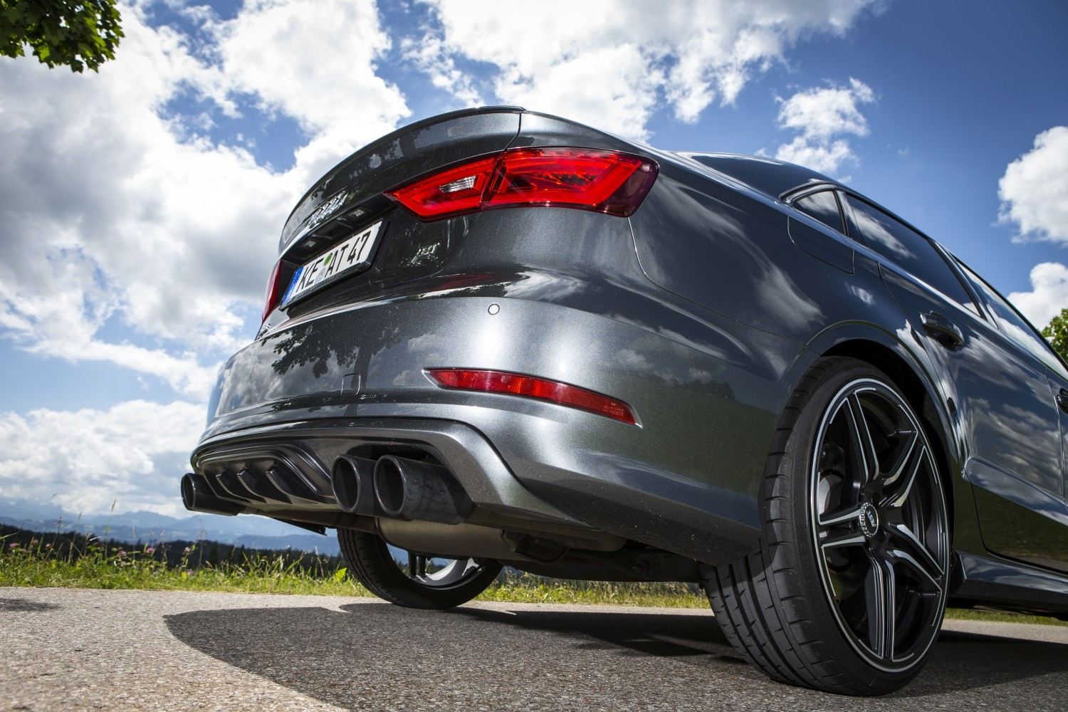 Audi S3 Tuned By Abt Has 400 Hp At Its Disposal