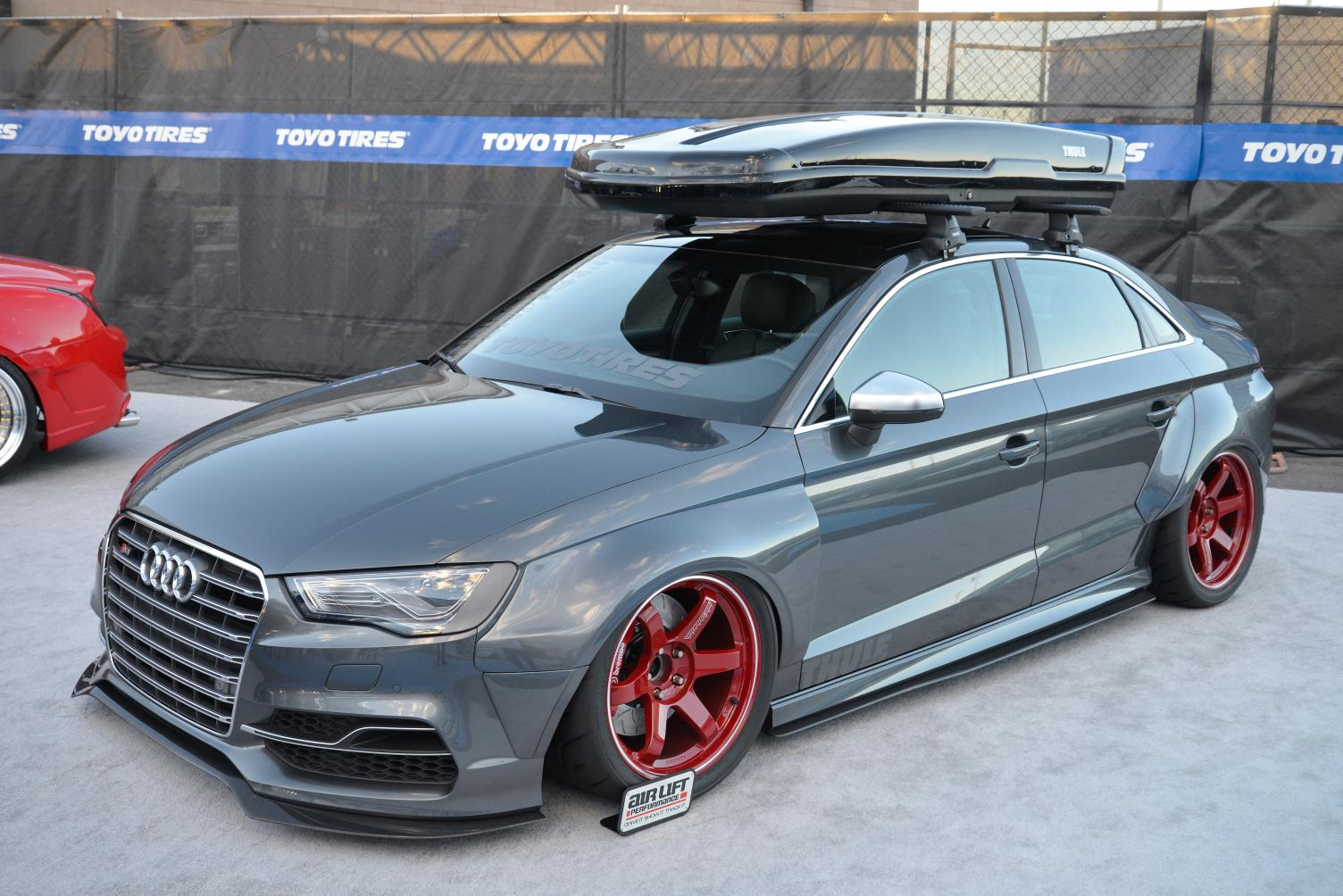 Audi S3 Sedan Widebody And Slammed E Golf Revealed By