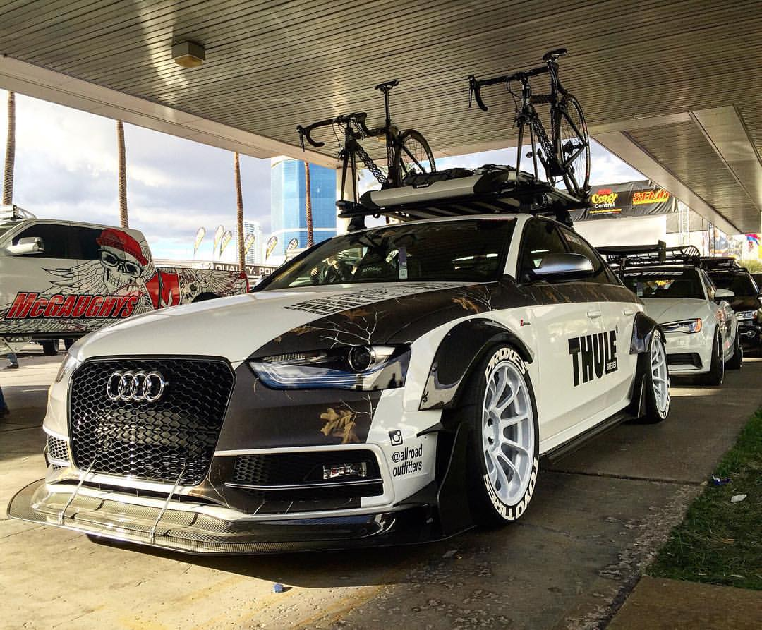 Audi S3 Sedan Widebody and Slammed e-Golf Revealed by Allroad Outfitters at 2015 SEMA ...