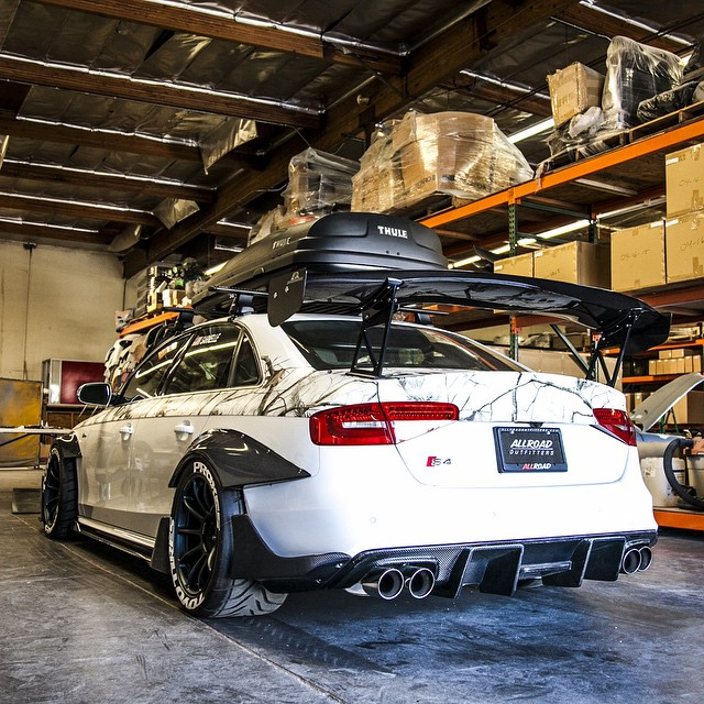 Audi S4 Aftermarket: Audi S3 Sedan Widebody And Slammed E-Golf Revealed By