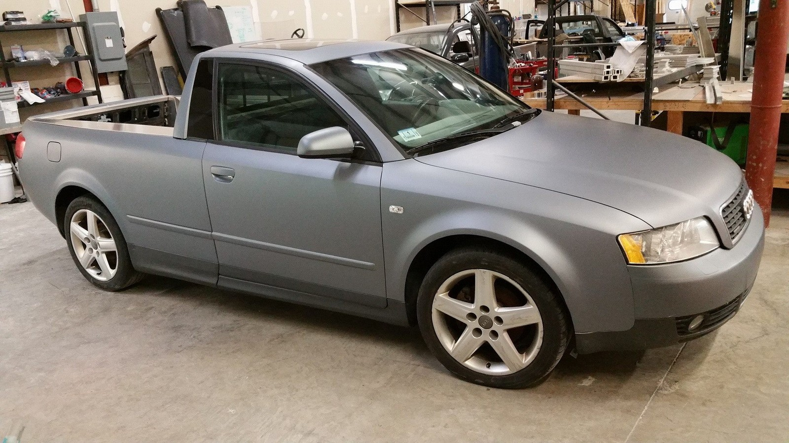 Vw Jetta Truck >> Audi S4 Pickup Truck Is Real: Smyth Performance Makes ...