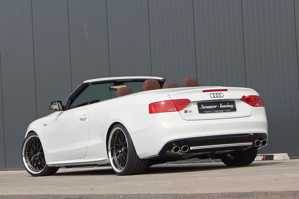 audi s5 convertible tuned by senner autoevolution. Black Bedroom Furniture Sets. Home Design Ideas