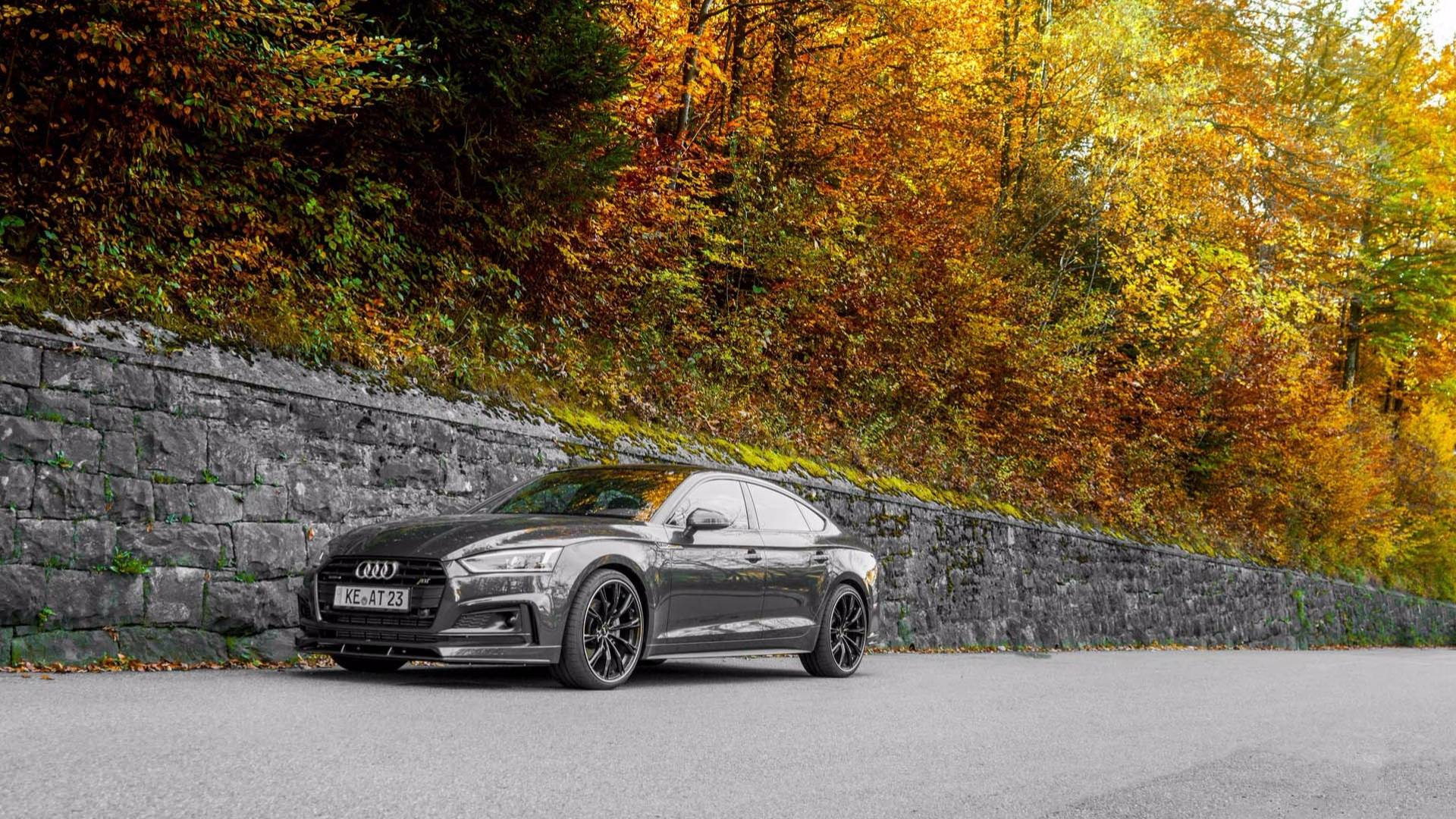 Audi S5 Gets 425 HP & Body Kit from ABT - autoevolution