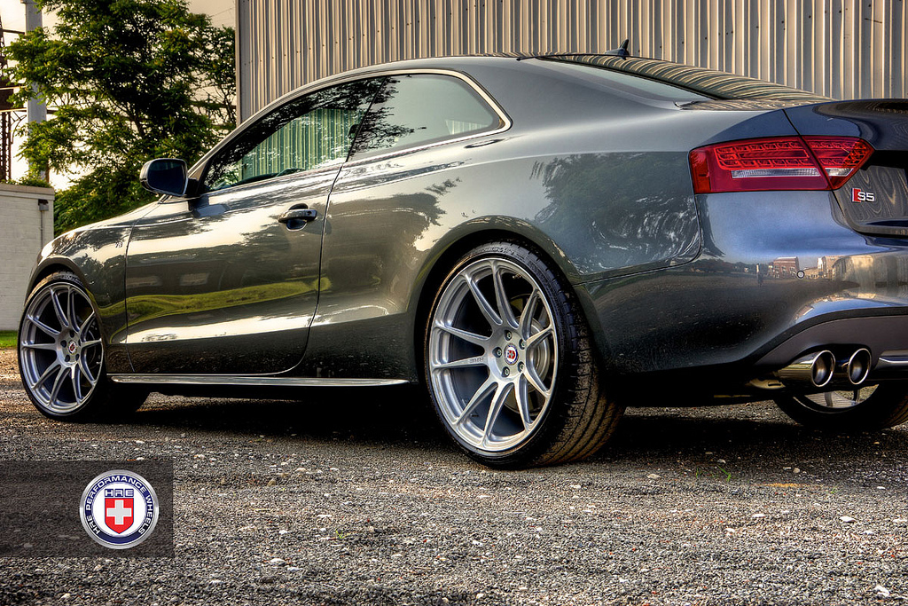 Audi S5 Rides On Hre Wheels Autoevolution