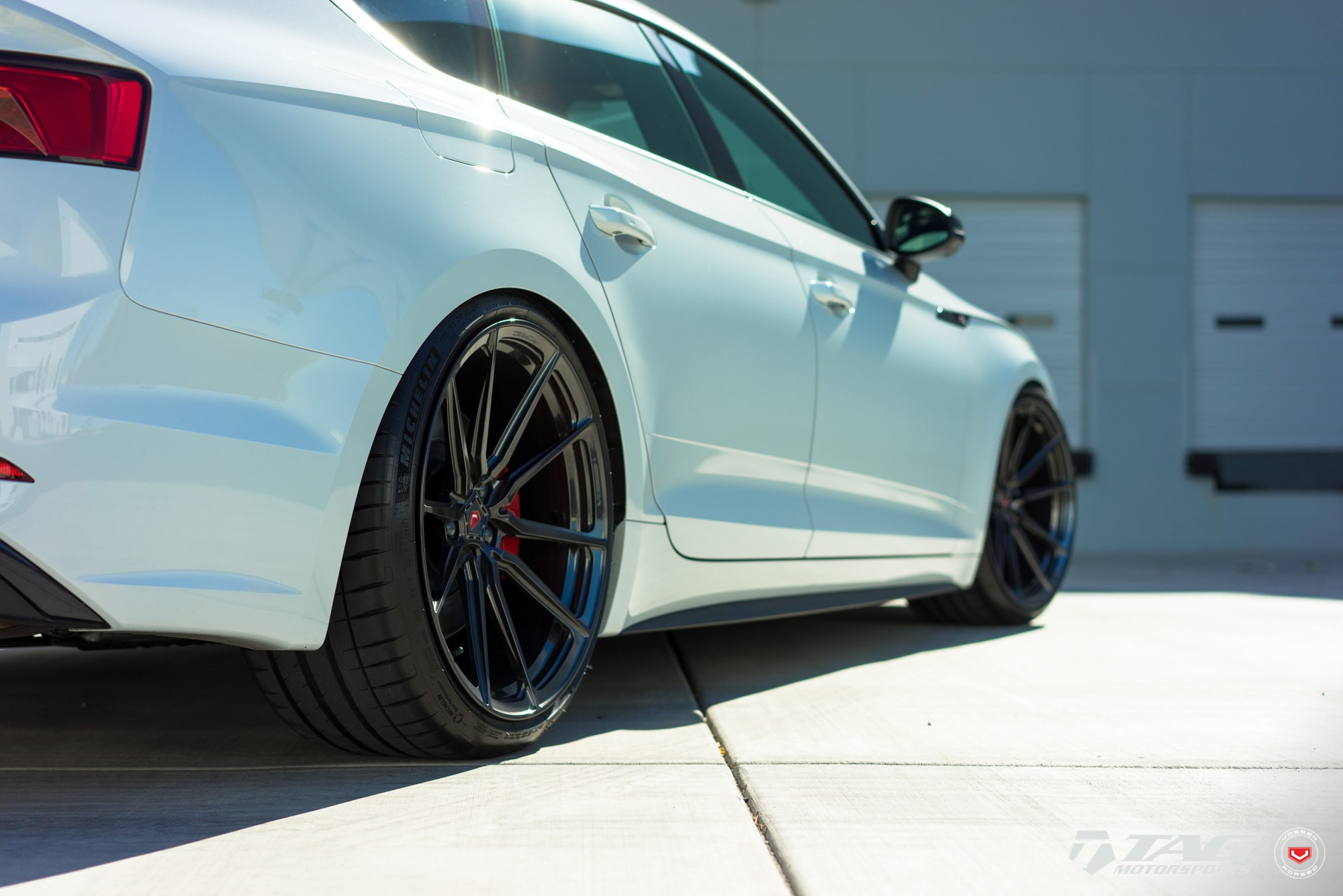 Audi S5 Sportback Looks Clean on Vossen M-X2 Wheels ...