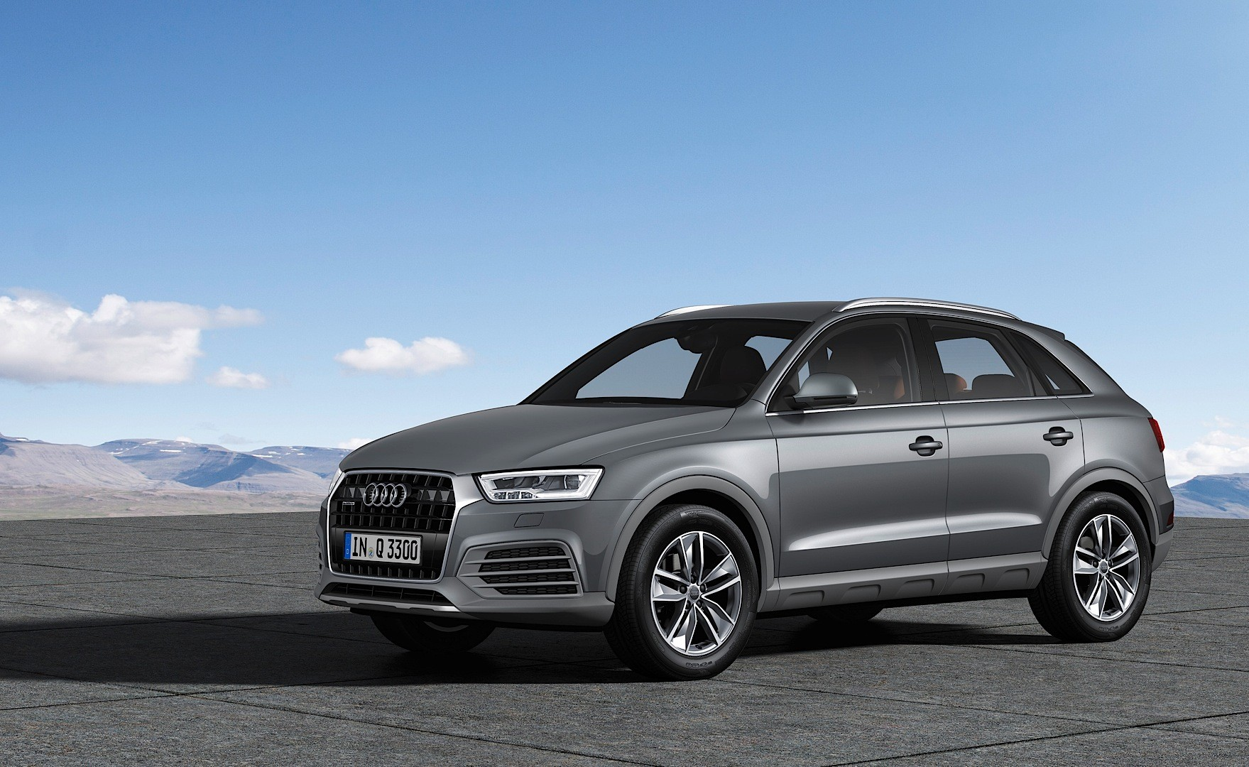 audi shares new 2015 q3 and rs q3 photos fresh colors new trim pieces autoevolution. Black Bedroom Furniture Sets. Home Design Ideas