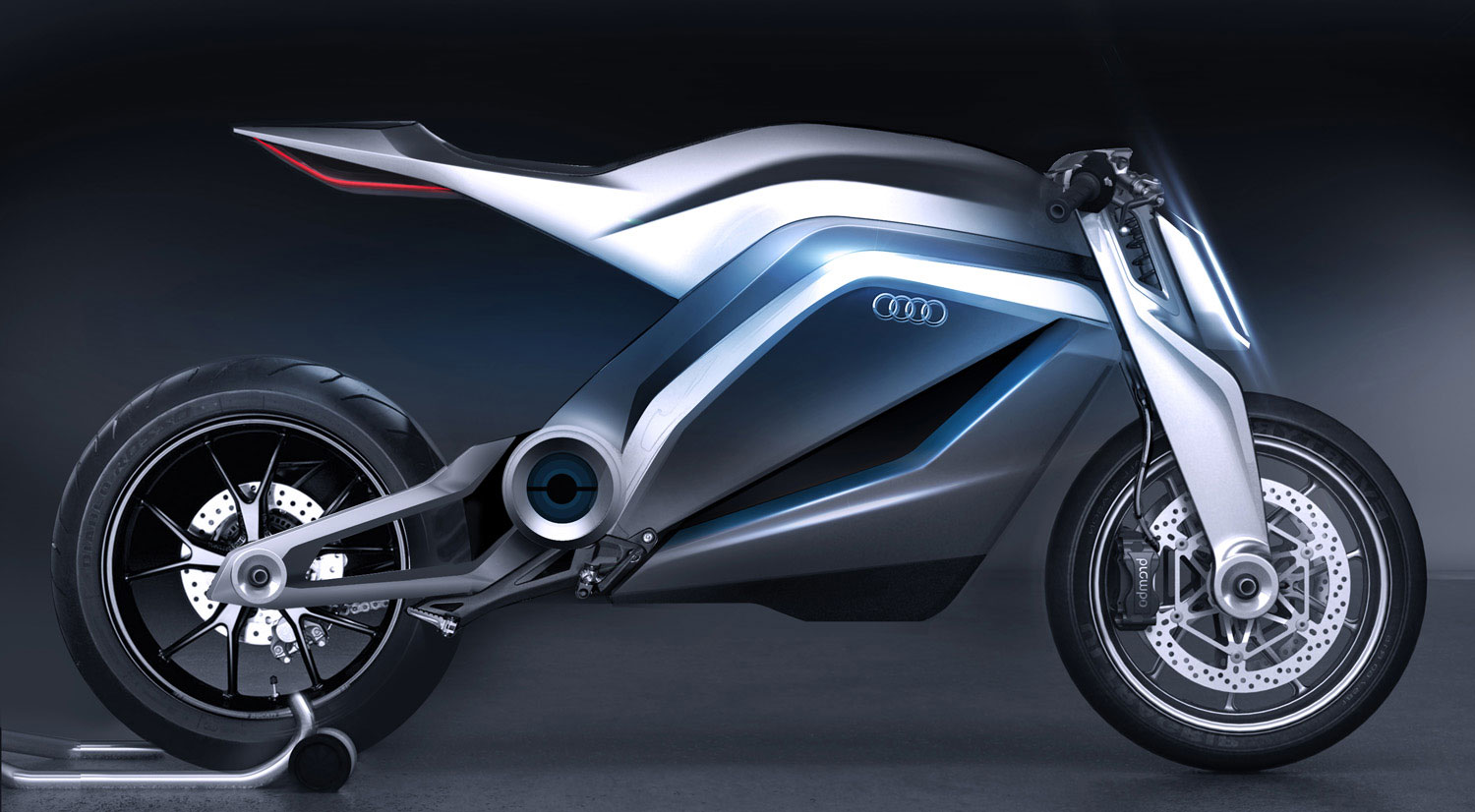Audi Shows Very Cool Motorcycle Concept - autoevolution