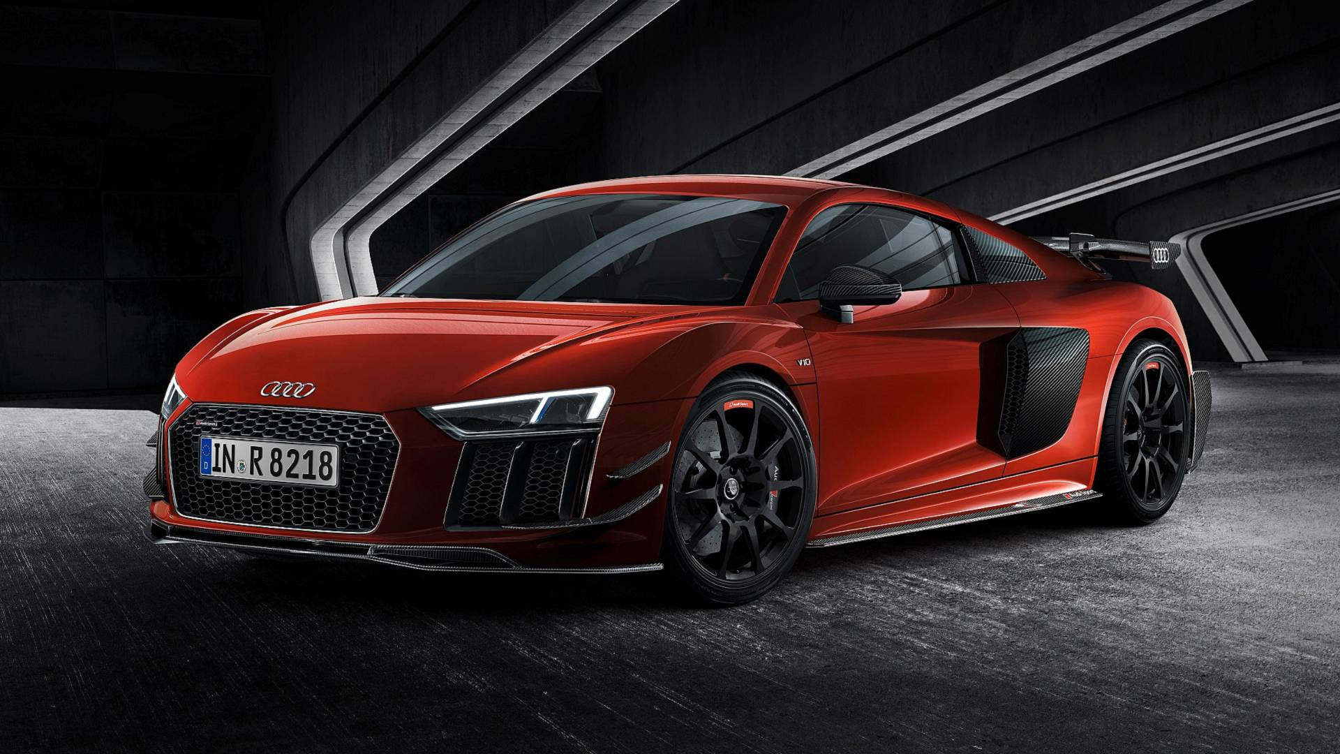 Audi Sport Performance Parts R8 V10 Plus Is Strictly
