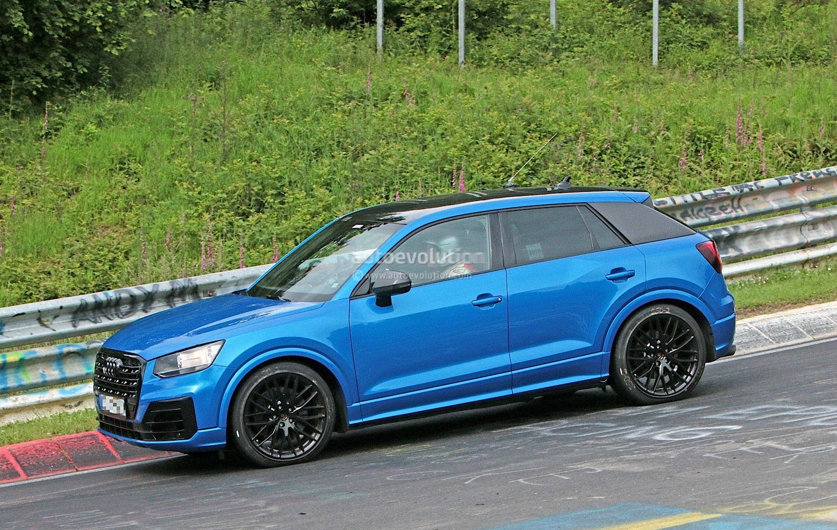 2017 Audi SQ2 Drops Hot Laps on the Nurburgring - autoevolution