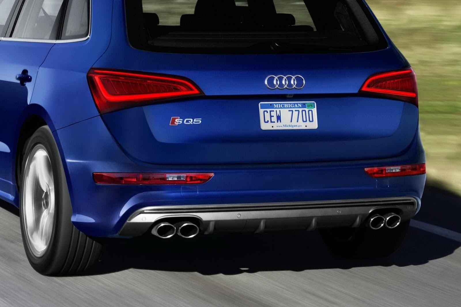 Audi SQ5 Gets 3.0-Liter Supercharged V6 Engine for Detroit ...