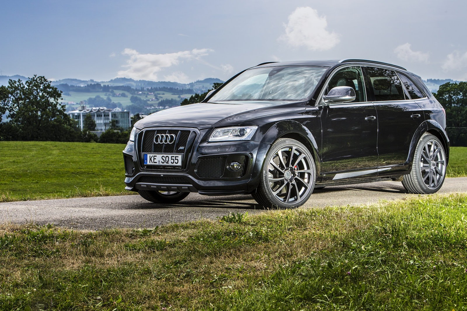 audi sq5 tdi tuned by abt autoevolution. Black Bedroom Furniture Sets. Home Design Ideas