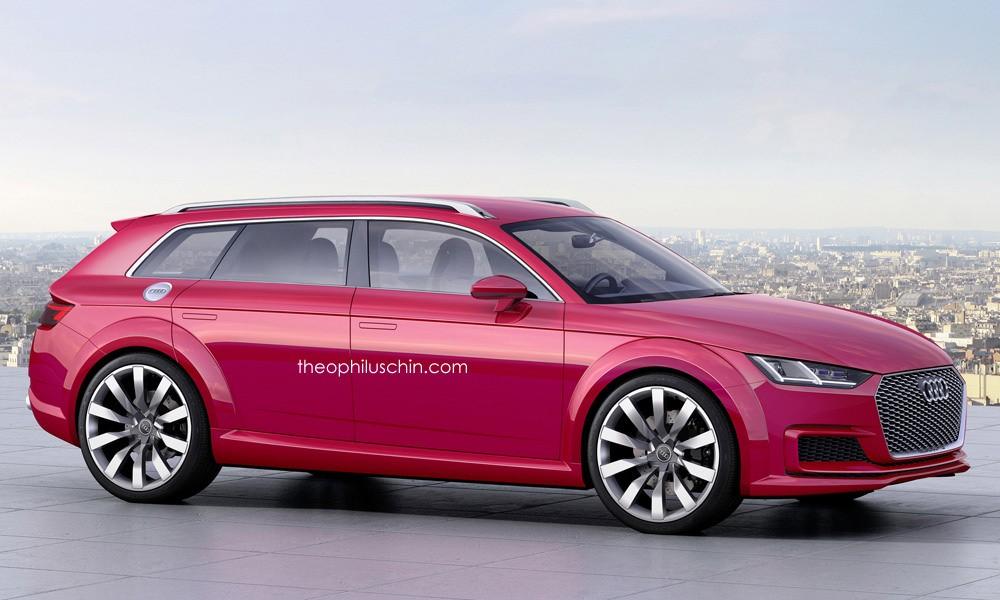 Фото | Шутинг-брейк Audi TT Avant, неофициально