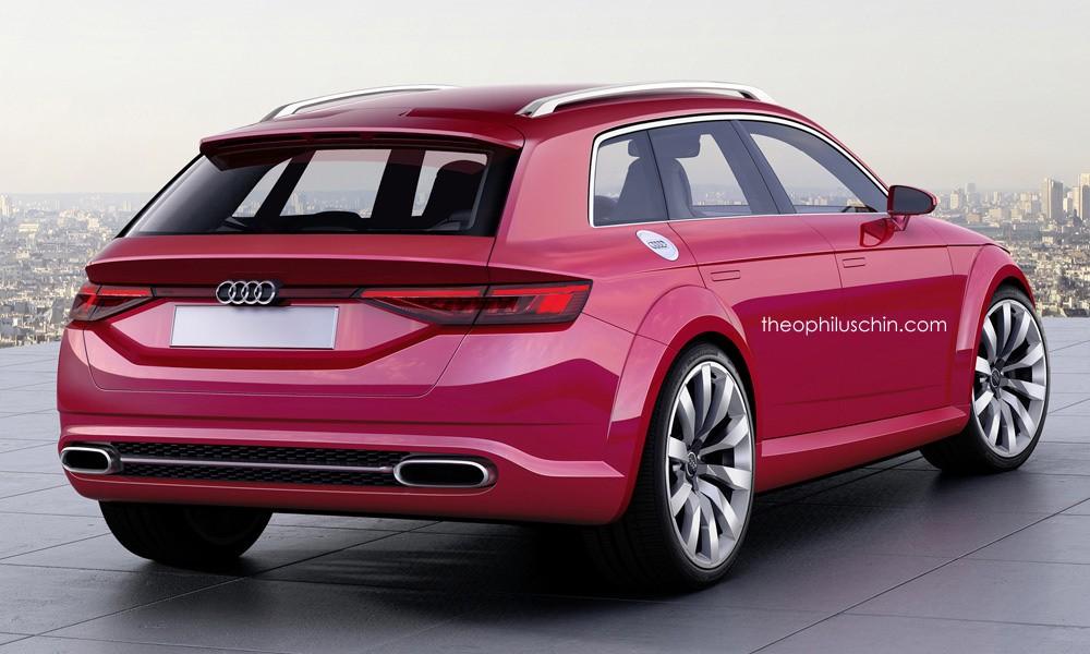 Дизайн Audi TT Avant от theophiluschin.com