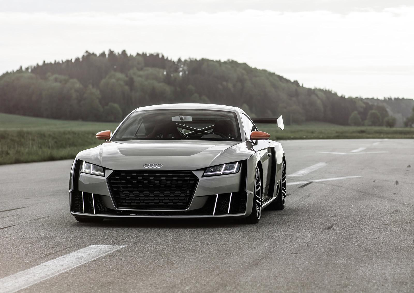 audi tt clubsport 2 5 liter tfsi with electric turbo revealed in first official video. Black Bedroom Furniture Sets. Home Design Ideas