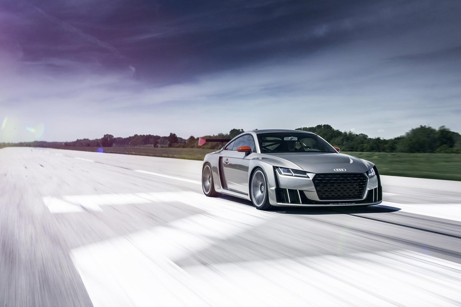 Audi TT Clubsport Liter TFSI With Electric Turbo Revealed In - Audi official