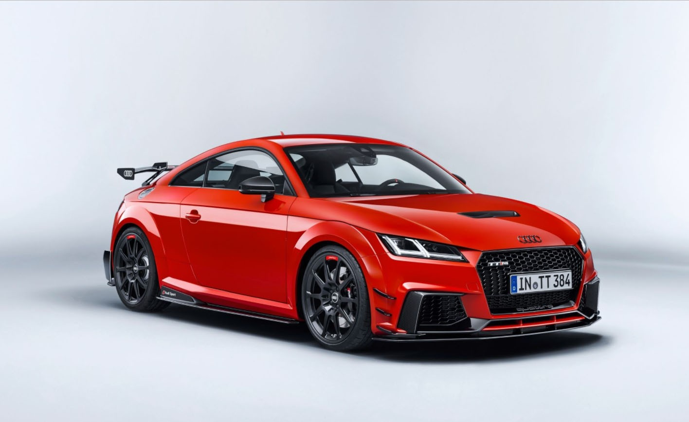 600 HP Audi TT Clubsport Turbo Concept Goes All Retro at ...