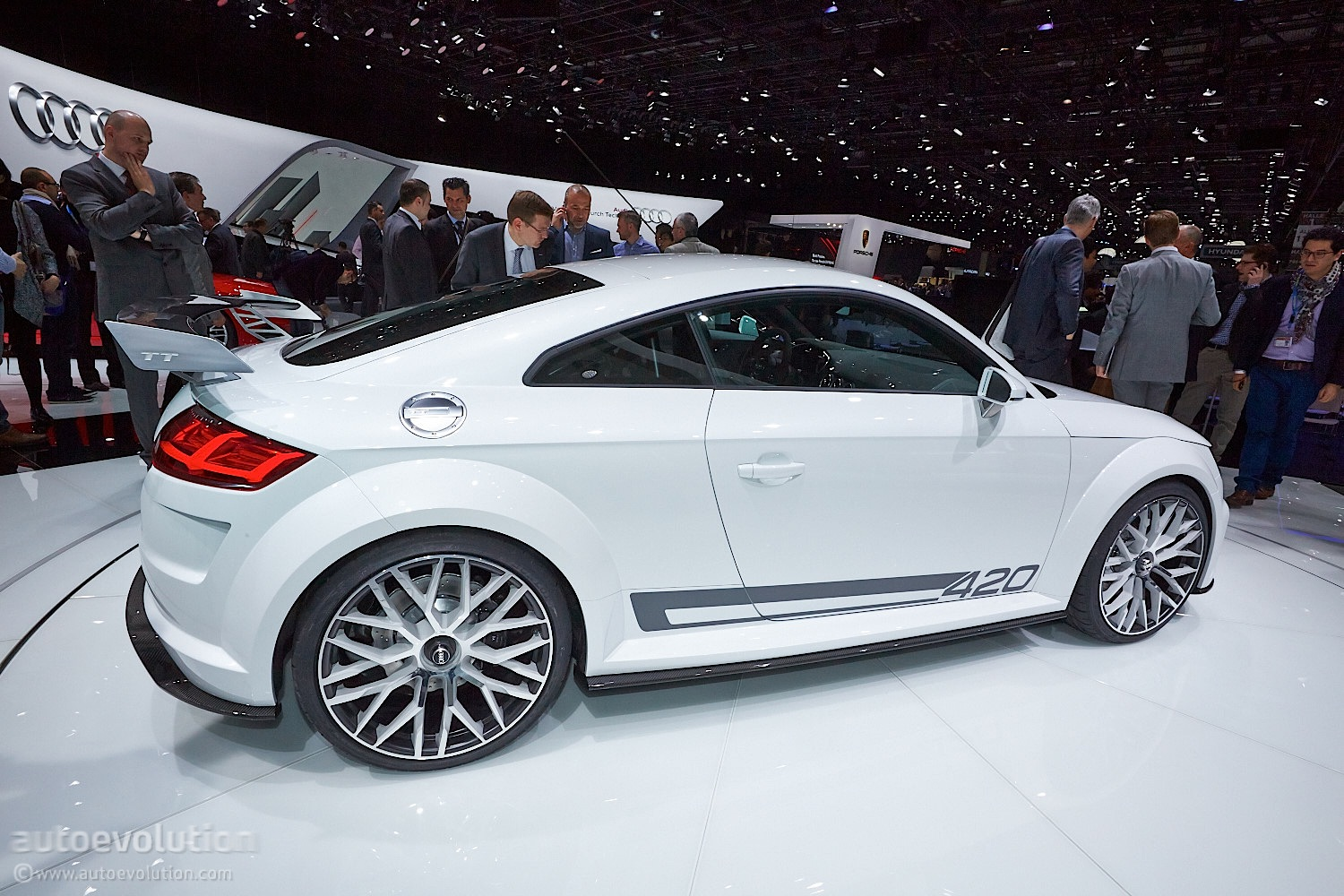 audi tt quattro sport packs 420 hp of nurburgring lapping. Black Bedroom Furniture Sets. Home Design Ideas