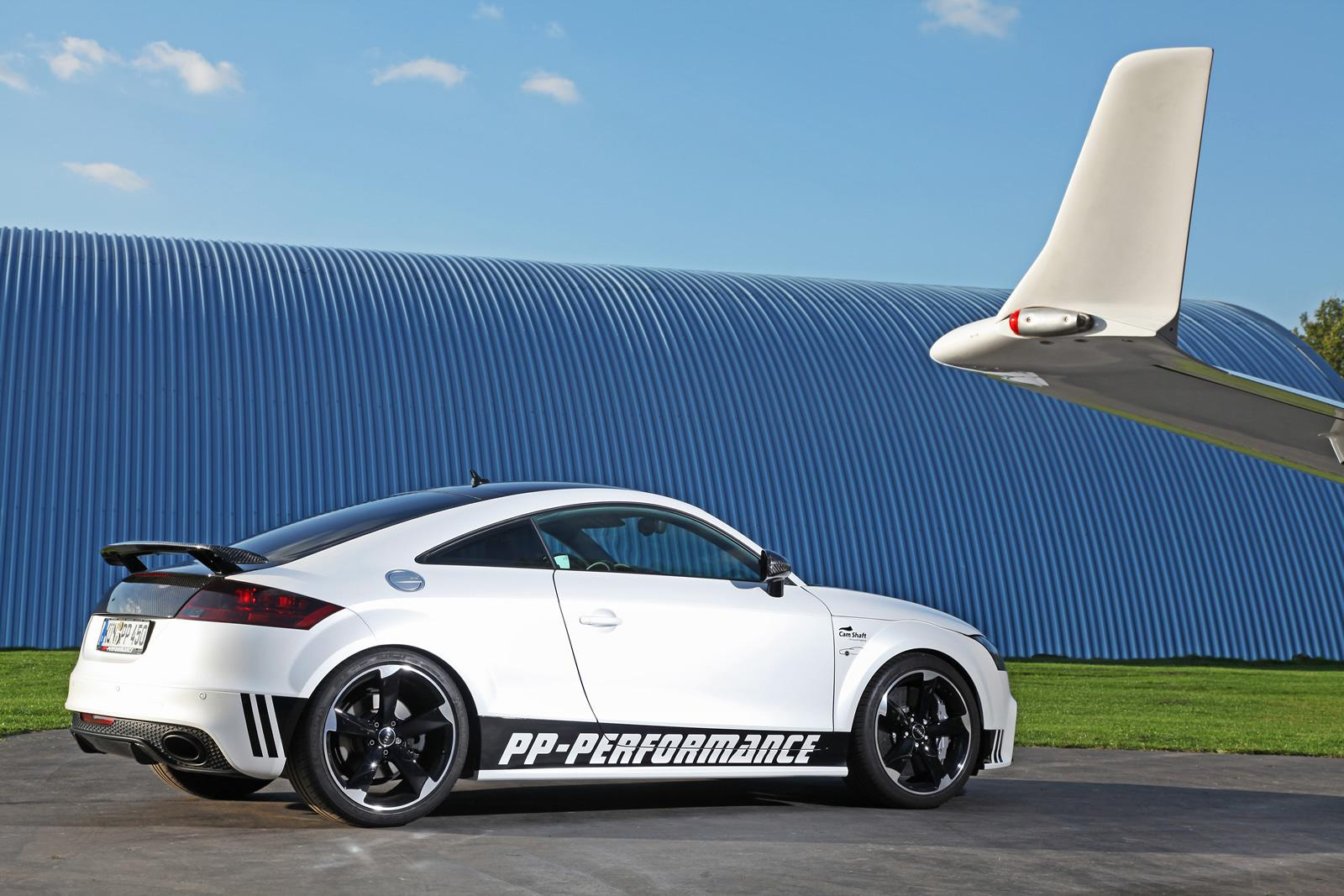 Audi Tt Rs Black Amp White Edition By Pp Performance And Cam