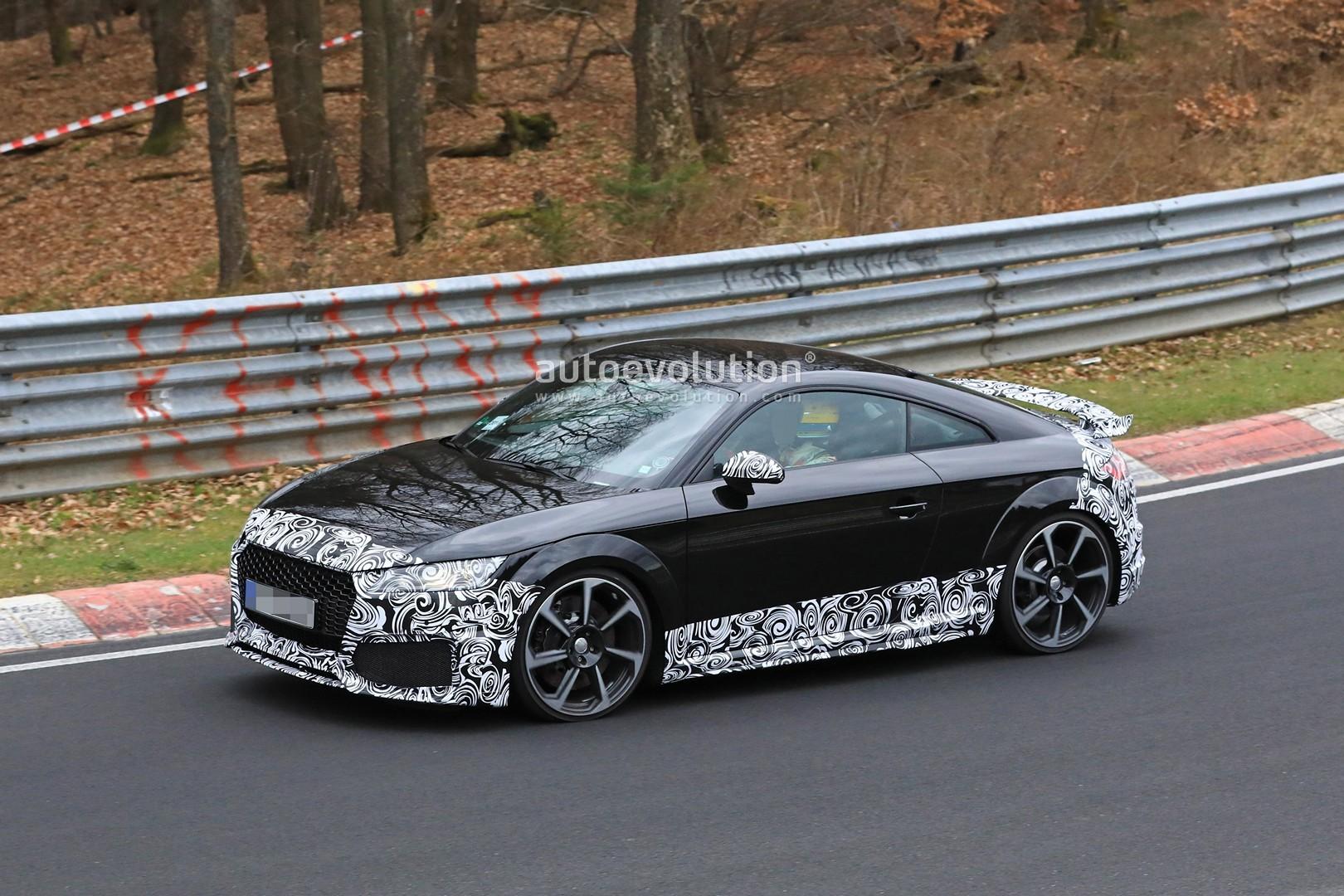 Spyshots: 2019 Audi TT RS Facelift Testing at the ...