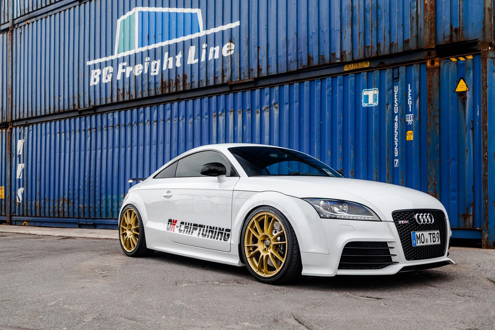 audi tt rs plus tuned to 453 hp by ok chiptuning. Black Bedroom Furniture Sets. Home Design Ideas