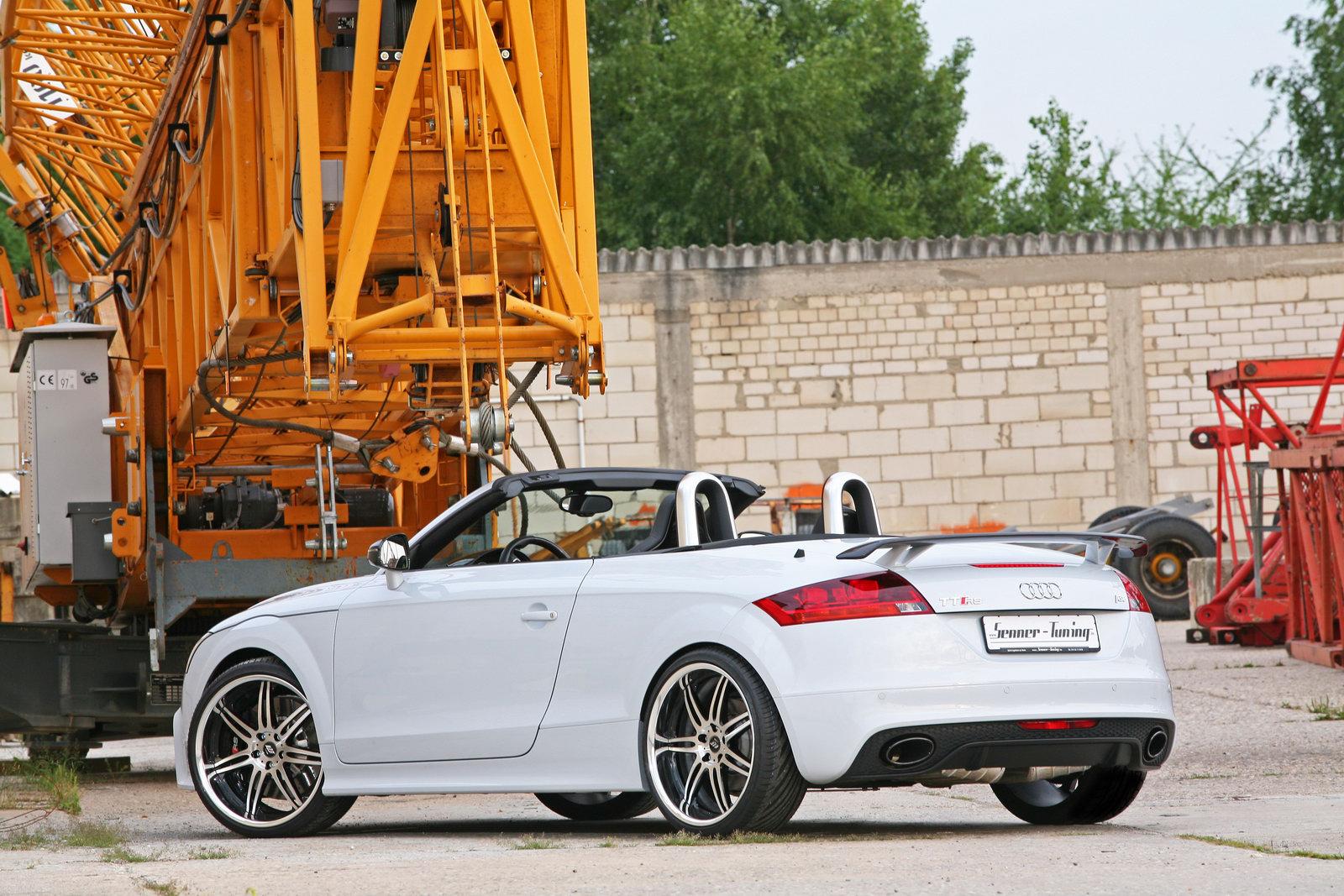 Audi Tt Rs Roadster Becomes Senner Tuning Power Tt