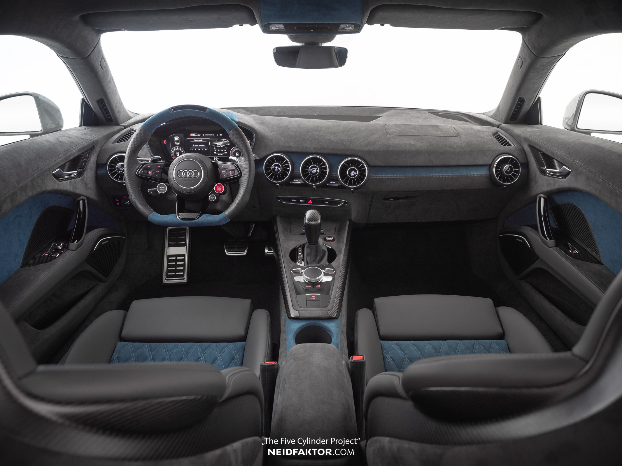 Audi Tt Rs With Custom Interior By Neidfaktor Is Even More