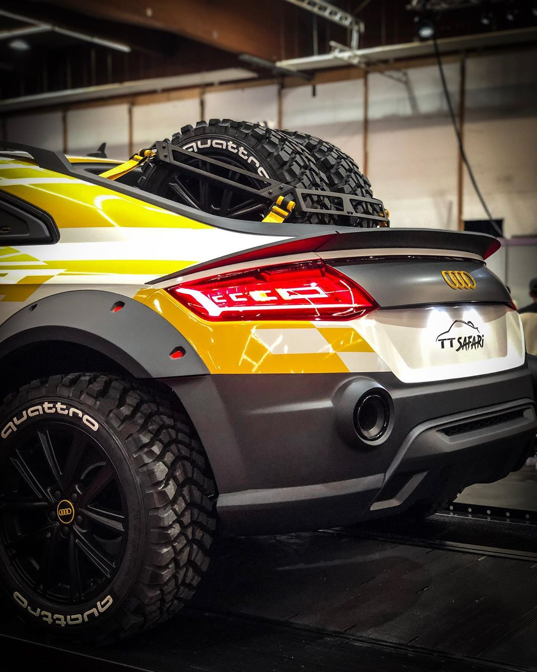 Audi Tt Safari Revealed Looks Like Full Size Hot Wheels Autoevolution