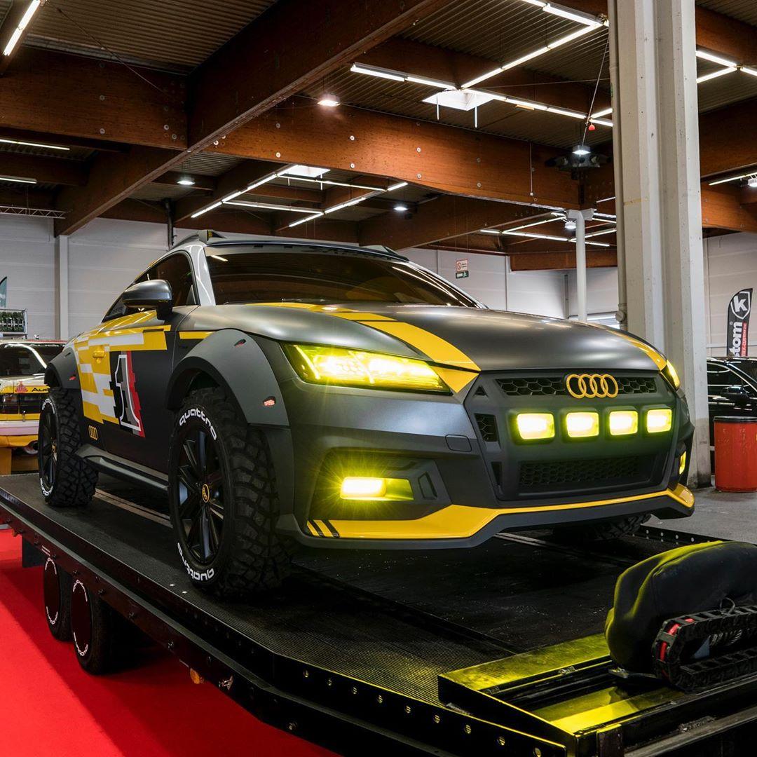 Audi TT Safari Revealed, Looks Like Full-Size Hot Wheels