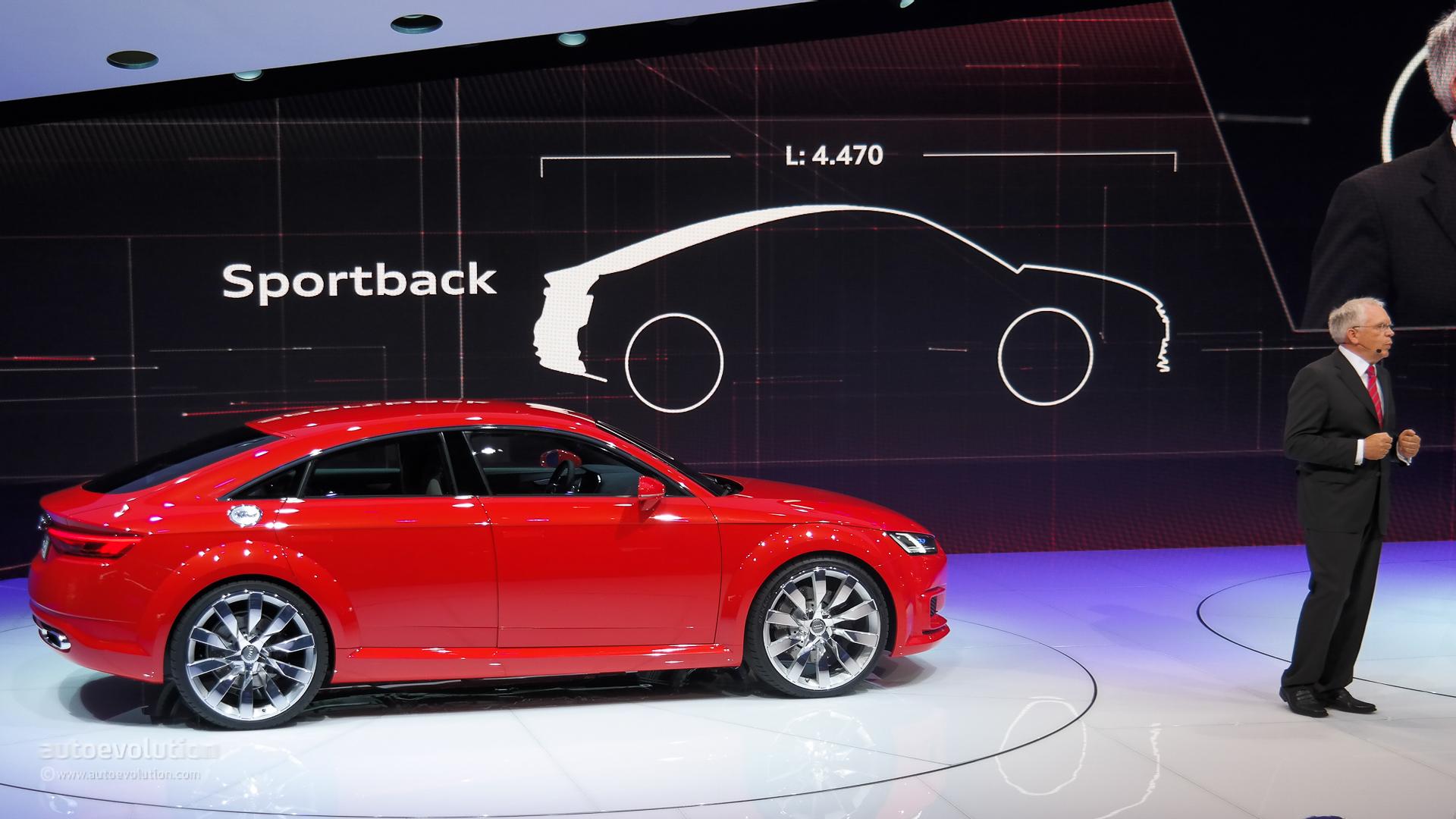 Audi Tt Sportback To Debut On November 20 At The Guangzhou