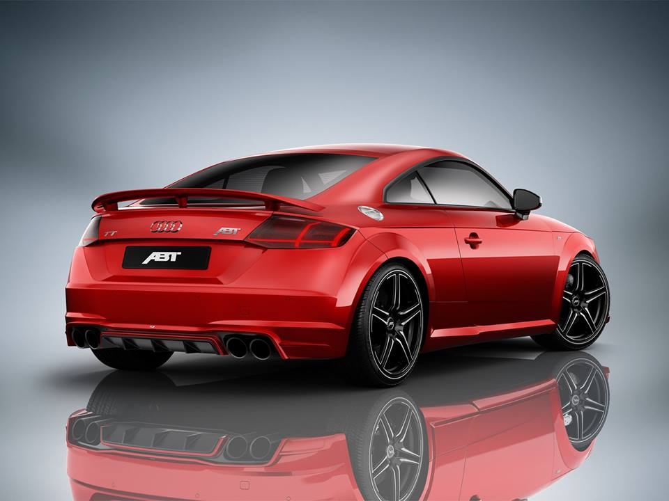 audi tt tuned by abt has 310 hp gunmetal gray wrap for. Black Bedroom Furniture Sets. Home Design Ideas