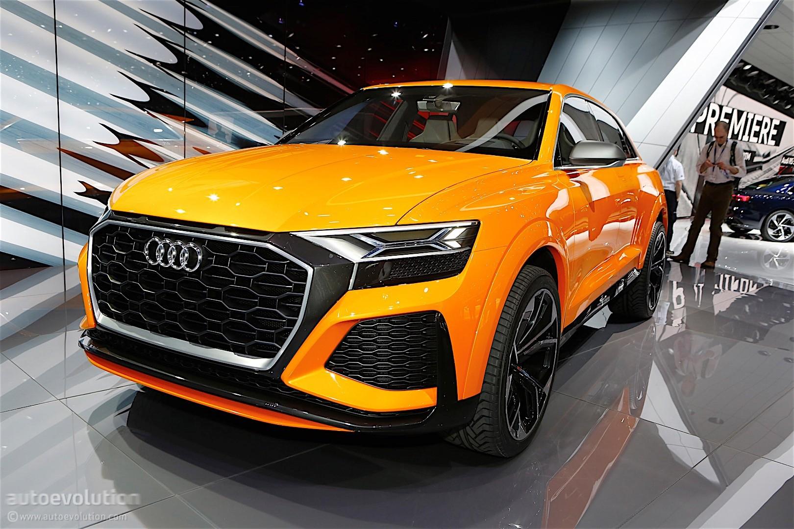 Audi Unveils Q8 Sport Concept, A Mild Hybrid With 476 HP ...
