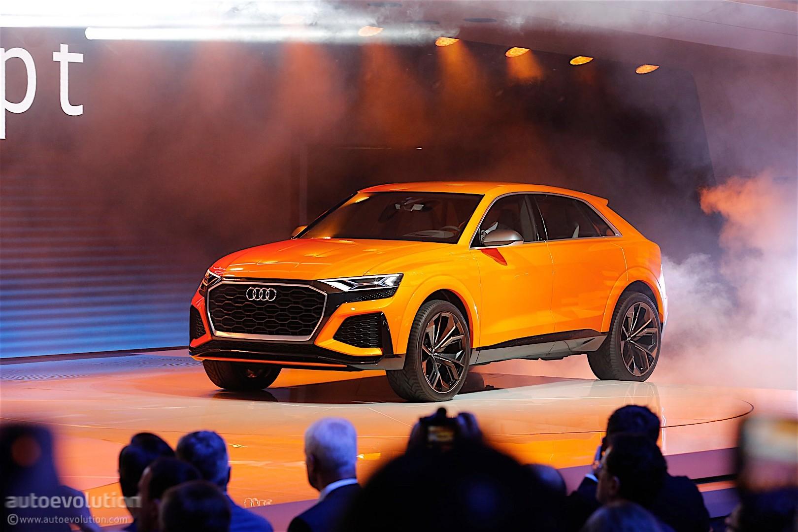 Audi Unveils Q8 Sport Concept A Mild Hybrid With 476 Hp And A 745 Mile Range Autoevolution