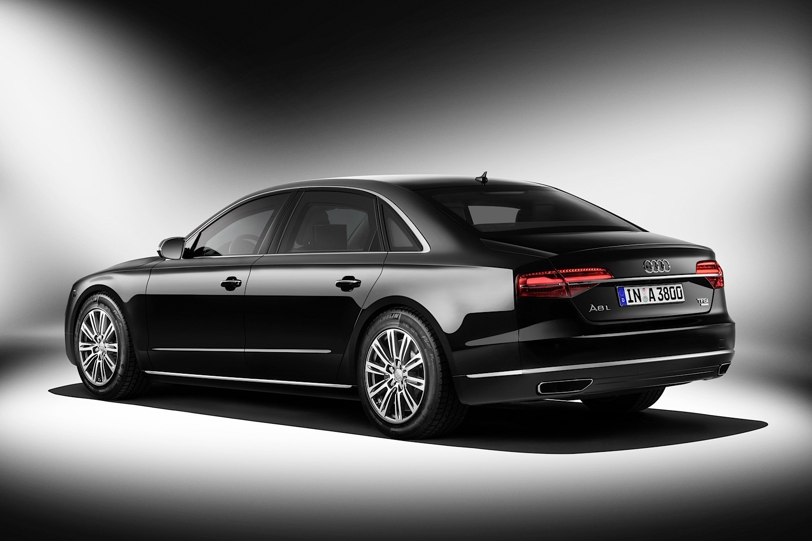 audi will display the armoured a8 security l in frankfurt