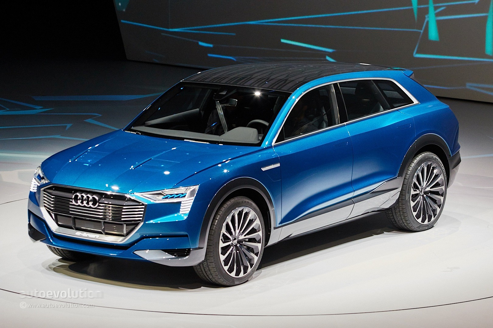 Audi Q6 Electric SUV to Be Built in Belgium from 2018 - autoevolution