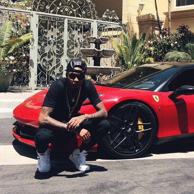 Ferrari Driving School >> August Alsina and Nicki Minaj Join Forces: Ferrari 458 and Cozy Pictures - autoevolution