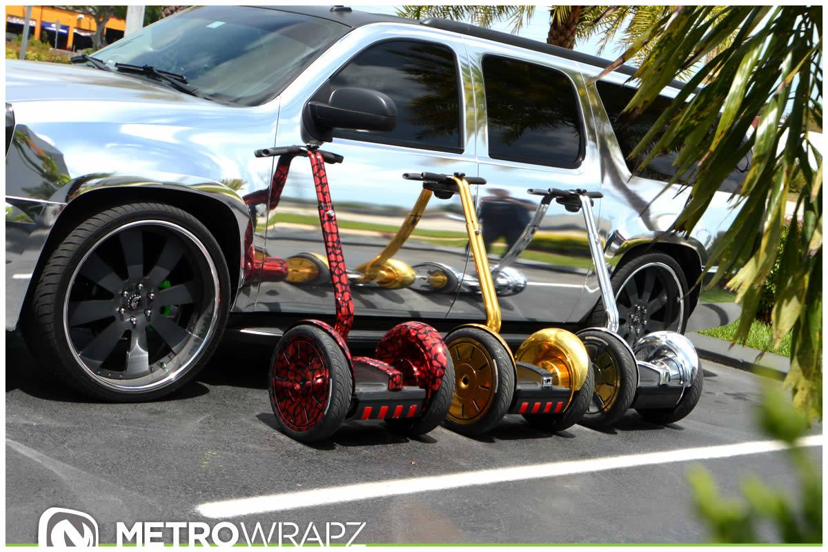 Range Rover Suv >> Austin Mahone Gets Chrome Segway Collection to Match Cars - autoevolution