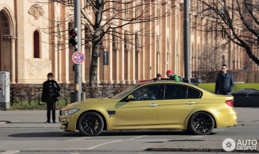Austin Yellow 2015 Bmw M3 Spotted In Germany