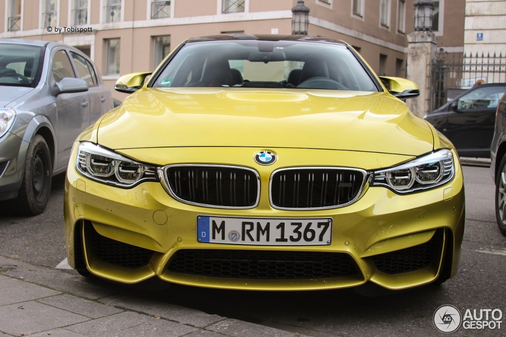 Austin Yellow Bmw M4 Looks Brilliant In Real Life