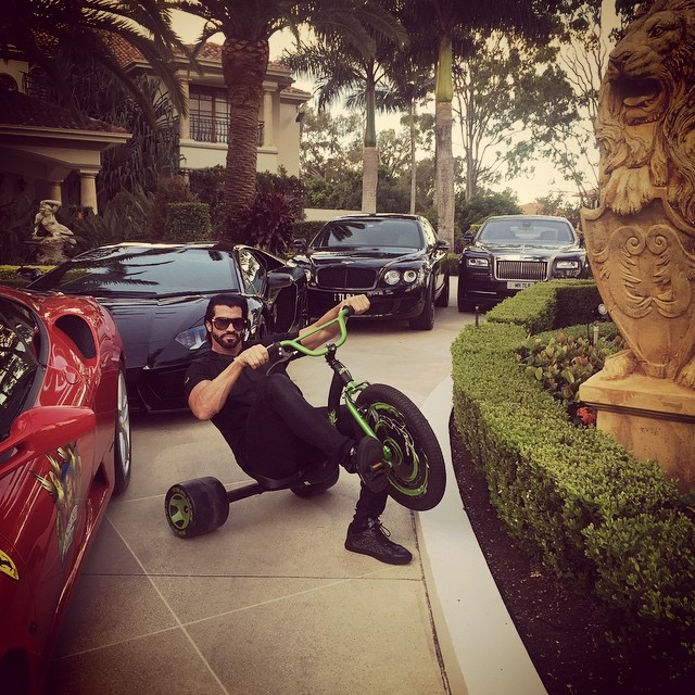 Dan Bilzerian I Bought A Semi Truck To Shoot With This