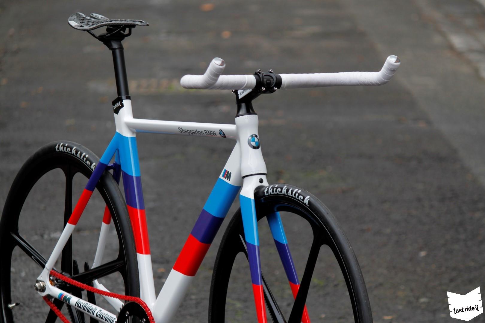 Australian Shop Creates Custom M Bike Autoevolution - Bicycle stickers custom